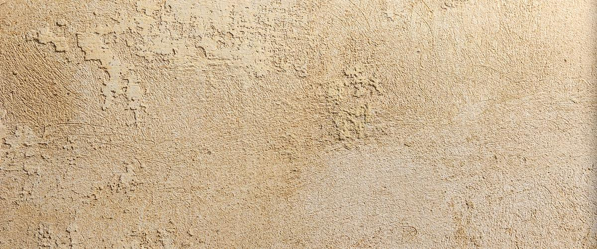 Close up image of wall texturing brown wall