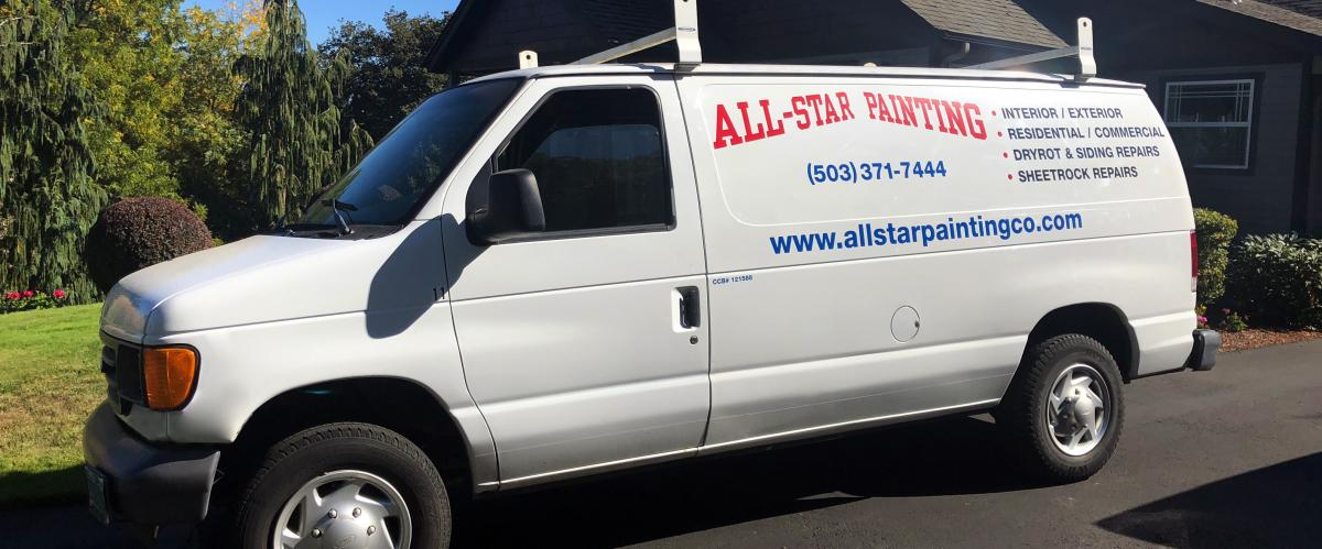 All Star Painting Truck